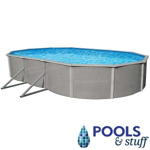 """Belize Above Ground Pool - 48"""" Deep Oval"""