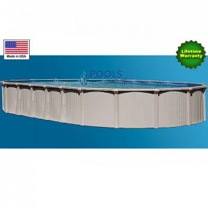 "Bermuda, 54"" Deep Oval Best Aluminum Above-Ground Pool Kits"