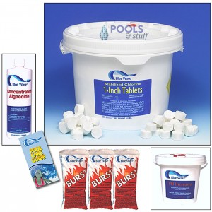 "Chemical Sample Kit - 1"" Chlorine TABS"
