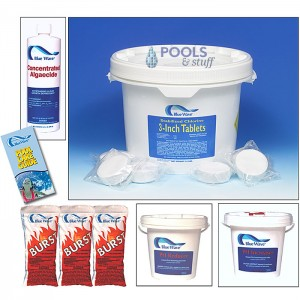 "Chemical Sample Kit - 3"" Chlorine TABS"
