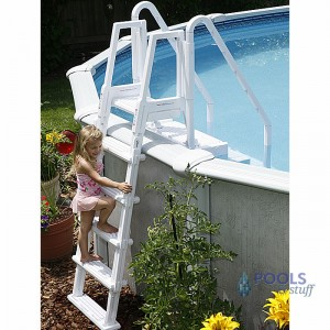 Easy Pool Step With Outside Ladder   Swimming Pool Steps