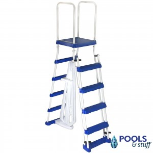 Ajustable Heavy Duty A-Frame Swimming Pool Ladder