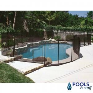 "Above Ground Premium Resin 24"" Tall Pool Fence Kit"