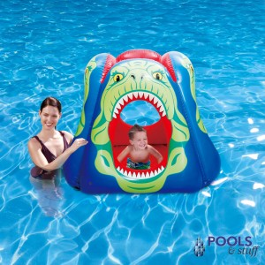 Piranha 63-in Floating Pool Habitat