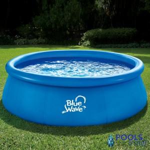"9' Round, 30"" Deep Inflatable Pool"