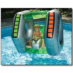 Starfighter Squirter Pool Float