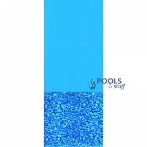 Blue Swirl Standard Gauge Overlap Liner