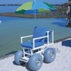 Beach Access Chair - Standard Chair, Four Large Wheels