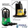 In-Ground Brute Force Automatic Cover Pump 1250 GPH