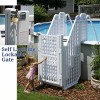 Easy Pool Step & Locking Entry System