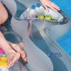 Double Designer Inflatable Pool Lounge Float detail