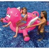 LOL™ 54 In. Animal Inflatable Ride-On Pool Toys - Pig