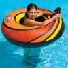 Power Blaster Pool Tube with squirt gun - Orange
