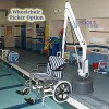 Wheel Chair Attachment Option, Revolution ADA Compliant Pool & Spa Lift