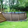 "RIVIERA™ - 33"" Round, 54"" Deep Salt Water Above-Ground Swimming Pool"