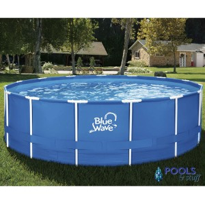 "Active Frame 15' Round, 48"" Soft-Sided Pool Package"