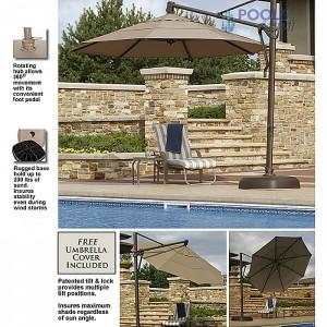 Bimini Cantilever Umbrella