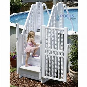 Easy Pool Step & Locking Entry System