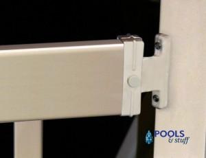 Hybrid Aluminum / Resin In-Pool Ladder