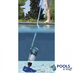 Catfish Rechargable Cleaner Battery Pool and Hot Tub Vacuum