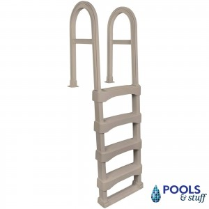 Hybrid Aluminum / Resin In-Pool Ladder