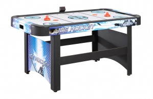 Face-Off 5' Air Hockey Table with Electronic Scoring