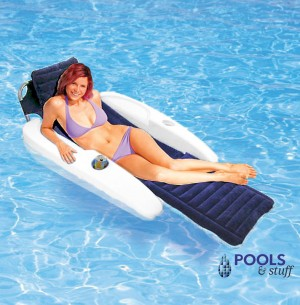 Sunchaser Padded Floating Lounger