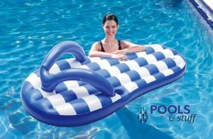 Flip Flop Float - Nautical Blue