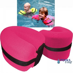 Foamy Floatie Arm Bands - Hot Pink
