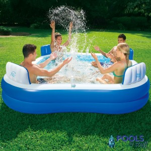 Premier Square Inflatable Pool
