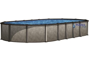 "Tahitian - Oval, 54"" Deep Above-Ground Pool Kits"