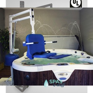 ADA Compliant Pro Spa Lift, Hot Tub Access Lift