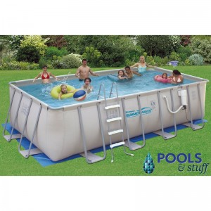 Rectangle - Soft-Sided Above-Ground Pool Kits