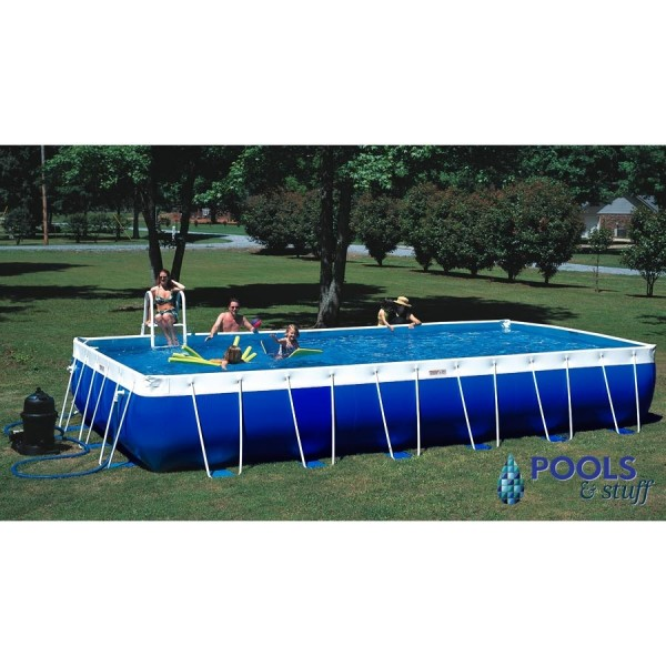 Premier Pool - Rectangle Style