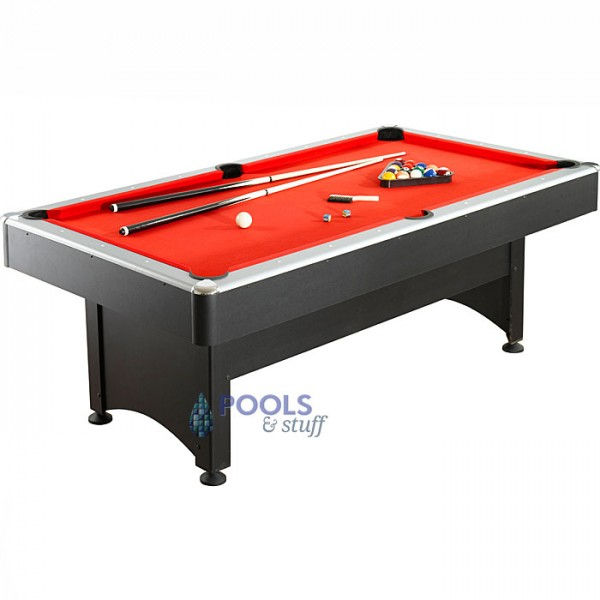 7 ft. Pool Table with Table Tennis - POOL