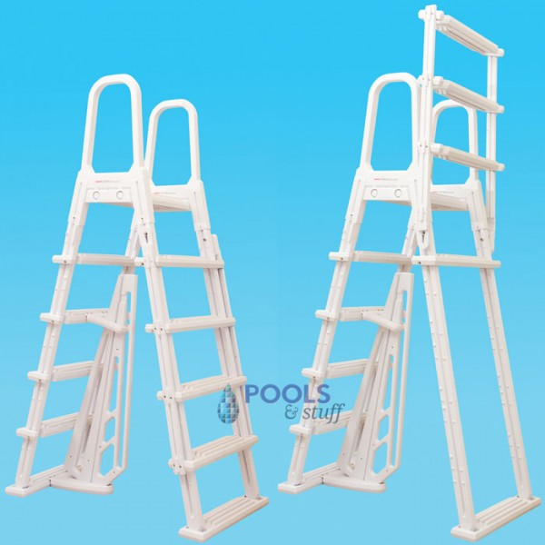 A-Frame Flip Up Swimming Pool Ladder