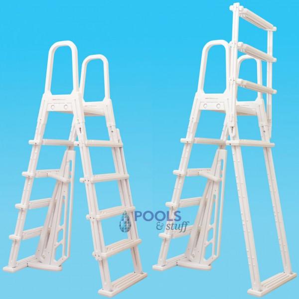 A-Frame Flip Up Swimming Pool Ladder