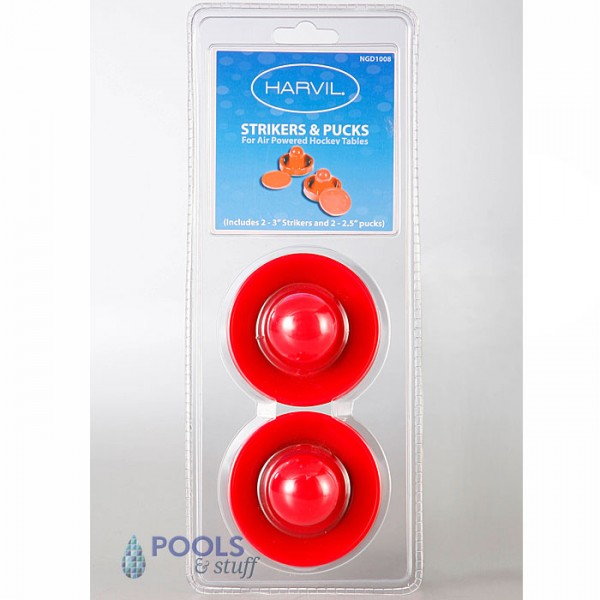 "Air Hockey 3"" Strikers & 2.5"" Replacement Pucks Set"