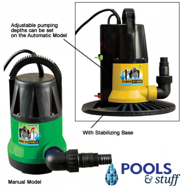 In-Ground Brute Force Cover Pump 1250 GPH