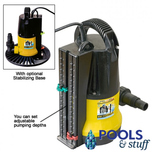Brute Force Cover Pump 2450 GPH AUTO on/off