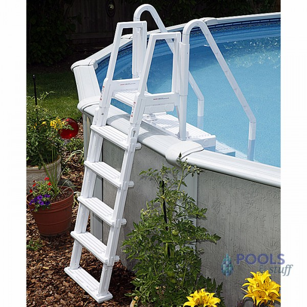 Easy Pool Step With Outside Ladder | Swimming Pool Steps