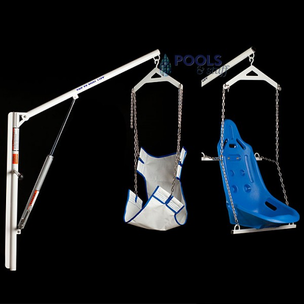 EZ Pool™ Extra Length Sling and Hard Seat Options