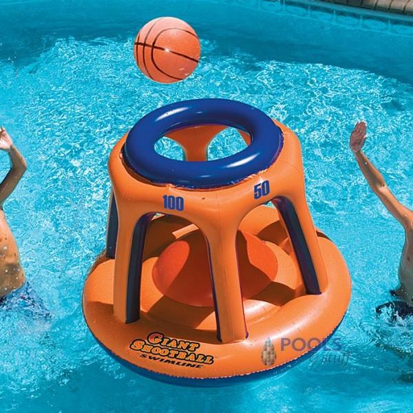 Giant Shootball for Pool Fun
