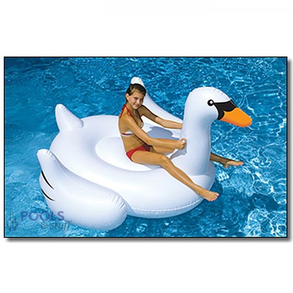 Giant Swan Rideable Pool Float