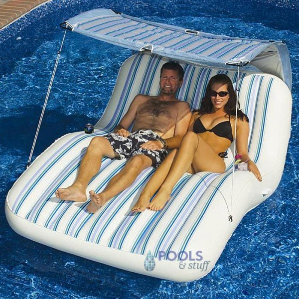 Luxury Cabana Lounger for Two