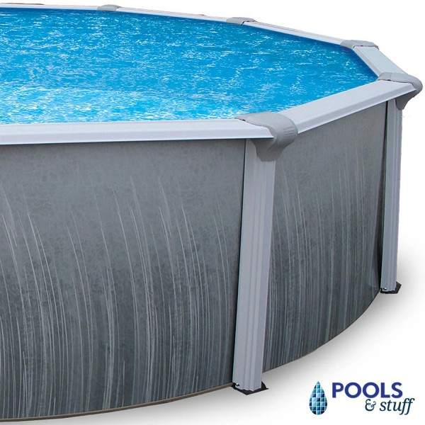 """Martinique - 12' x 24' Oval, 52"""" Deep Above-Ground Pool"""