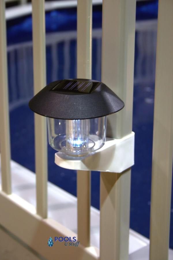 Pool Fence Safety Light