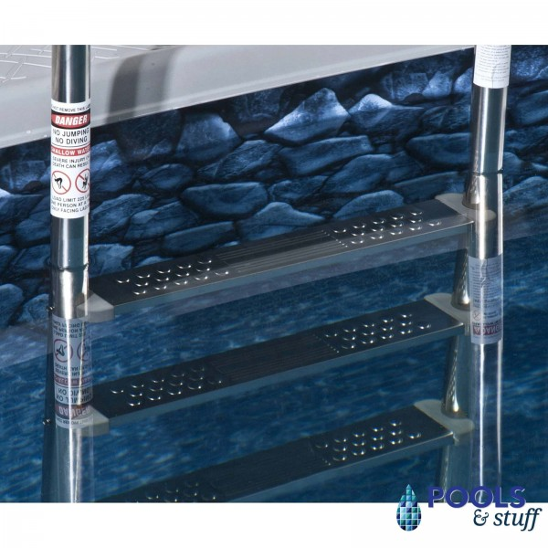 PREMIUM Stainless Steel Reverse Bend In-Pool Ladder
