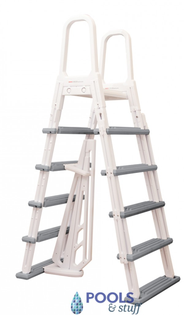 Heavy Duty A-Frame Swimming Pool Ladder
