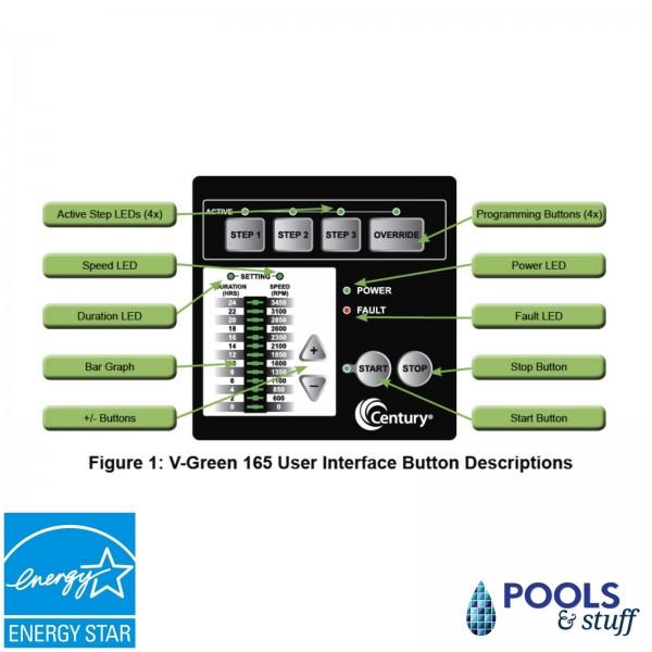 FlowXtreme™ APEX 230V, 1.65 HP VARIABLE SPEED In-Ground Pool Pump